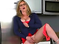 Blonde Teen Cory Chase Busted Fucking On Livingroom Sofa