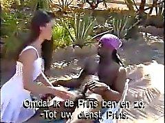 Nederländska Sabrina på Ibizas Semesteranläggning