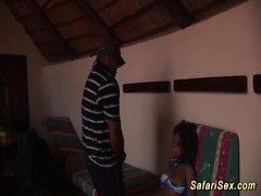 selvaggia bambina African adora il sesso estrema