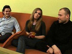 Amatör ryska teen dp trio