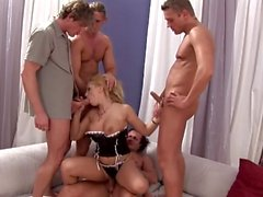 Russian Bimbos in Xtreme Sex - Scene 4 - DDF Productions