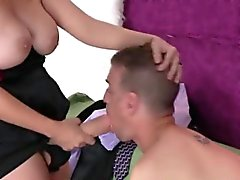 Girls fuck studs anal hole with monster strap-ons and burst
