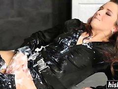 Cayla Lyon fucked a dick raw