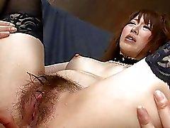 JAPAN HD Heraussprühen japanische Pornosterren erhält eine Creamp