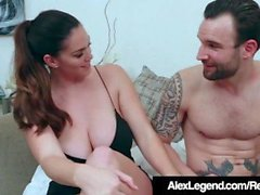 Busty Alison Tyler Ditches salak tarihi Alex Legend Fuck!