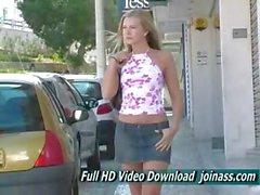 Alyssa schießen In Portugal Wir führen eine schwedische Modell