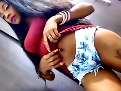 StripCamFun Webcam Girl Amateur Ebenholz Kostenlose Pussy Porno