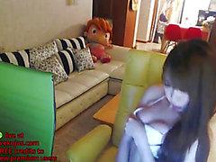 Korean niedliche camgirl hawt zeigen