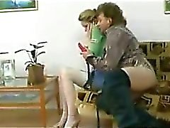 Teen Fucking With A Strapon