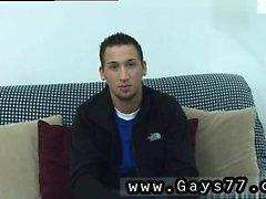 Straight guy tranny de vídeo gay primeira vez que Ele desembainhou um bronzeado
