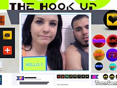TEENGONZO Brooklyn Daniels fickt zufälligen Dude aus Dating App