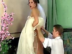 Jaclyn - a Mike novia bajo vestido