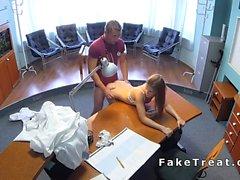 Nurse bumst Arzt der Sicherheit Kurvenscheiben