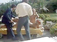 Orgía al aire libre Rocco de la vendimia 80s