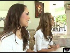 Jenna Haze and Kristina Rose get banged