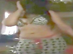 arab girl dancing thong slip 2015