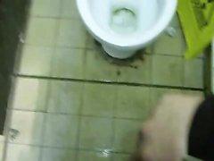 Spy in bathroom