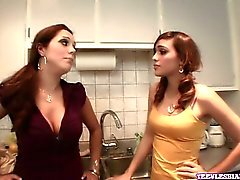 Francesca Le and Melanie Rios have been neighbors for the