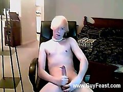 Hot gay sex That is until he begins rubbing his pecker through his