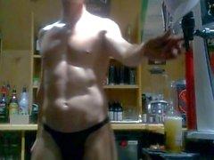 Den sexiga Strippa Kvinna Bar Anbuds