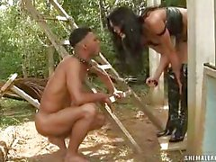 Служб Viviany Агилера и ее рабом