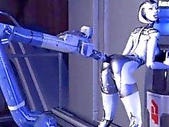 compilación Mass Effect de EDI de .gif