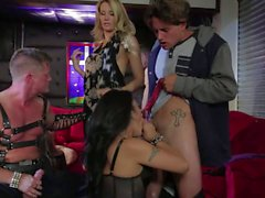 Insane fetish orgy with Asa Akira and Jessica Drake