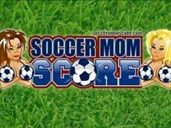 Soccer Mom Fodido pelo treinador