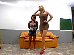 brasilianer domina fuß-fetisch