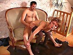 Franse amateur anale moeder