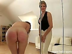 Naked Pandora Cropped, Spanked por Lady Sonia