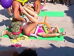 Orgia na praia