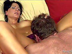 Sexy MILF Zoey Holloway gives it to Randy Spears