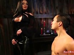 Mistress Fucks Mies Slave's Ass