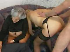 Немецкий бабка Swinger участник