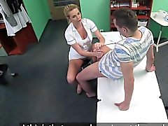 FakeHospital pim hemşireye a Creampie sağlayan yakaladım