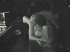 Fångade knullar i en Limousin