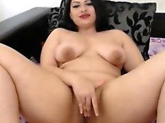 Cock-hungry chubby girl wants you to look at her playing wi