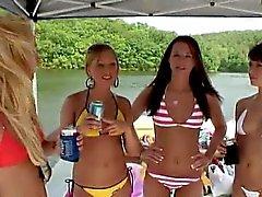 Summer parties with nude crazy teens