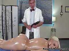 Intimate massage time for Anikka Albrite