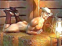 3D Kinky muskel Pojkar gillar det stort !
