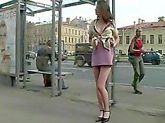Катя Кубанбаева на улице ( 1. )