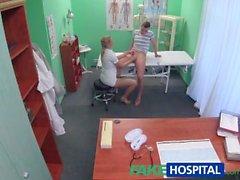 FakeHospital Stud, hemşire creampie vererek yakalandı