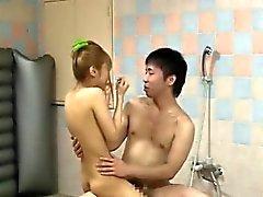 Schöne Verlockende koreanischen Mädchen abgefickt