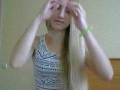 Super Sexy Langes Haar Blond, Langes Haar, Haar