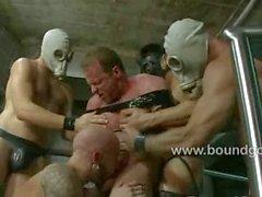 Джоша West порет Адамом в подчинение