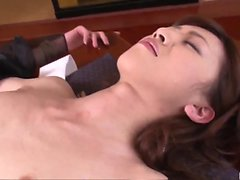 Sesso penetrante di penetrazione profonda con Kanon Hanai caldo