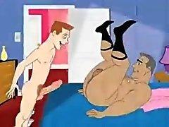 homosexuell karikatyr 3