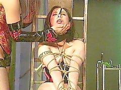 Meesteres disciplines haar slaaf