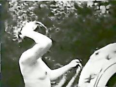immenses mésanges - black - et les - white brunette